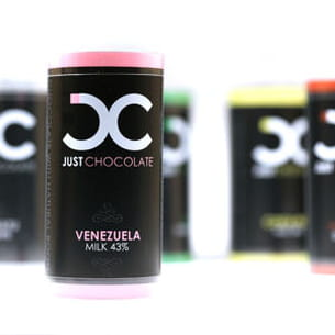 'just chocolate' de la chocolaterie duval