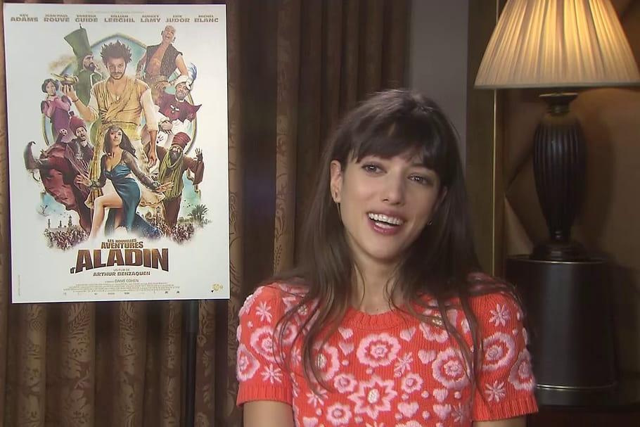 Vanessa Guide joue les princesses dans Les Nouvelles Aventures d'Aladin