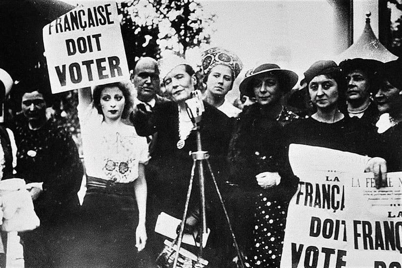 Droit de vote des femmes : 70e anniversaire