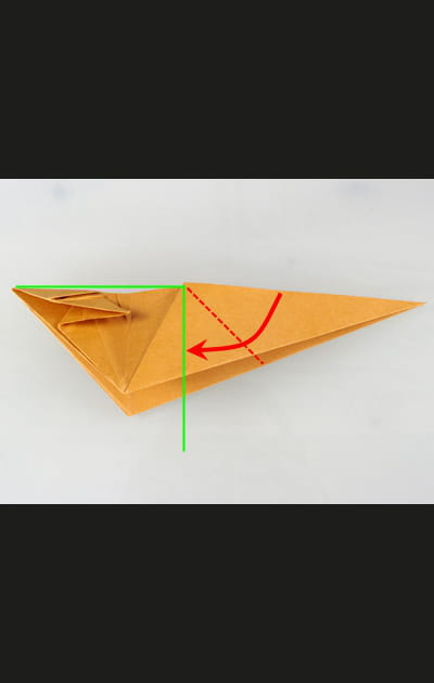 Origami chat - Etape 20