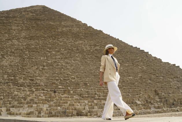 Melania Trump, sur les pas des pharaons en Egypte
