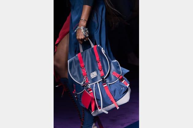 Le sac à dos du défilé Versace