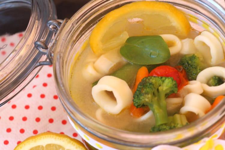 Pot-au-feu de calamars et ses légumes croquants