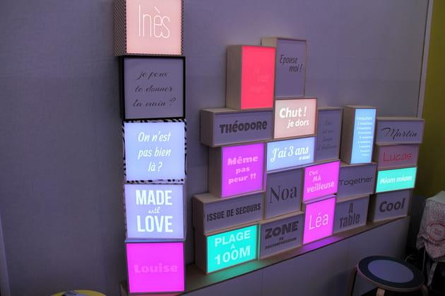 Boîte lumineuse Dada Light