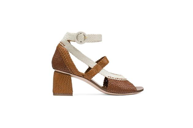 Sandales tressées de Stuart Weitzman