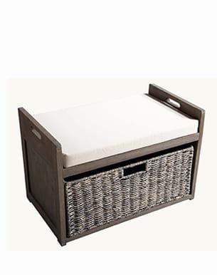 un banc rangement. Black Bedroom Furniture Sets. Home Design Ideas