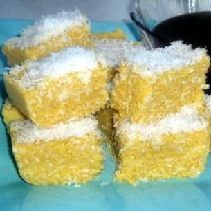 polenta à la noix de coco