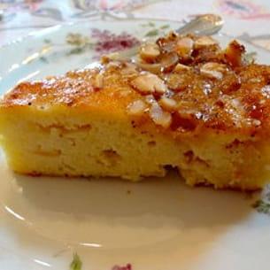 gâteau pommes et pommes de terre