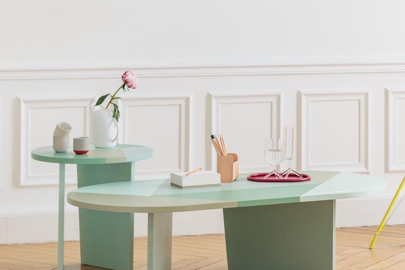 pour le salon une table basse originale qui change. Black Bedroom Furniture Sets. Home Design Ideas