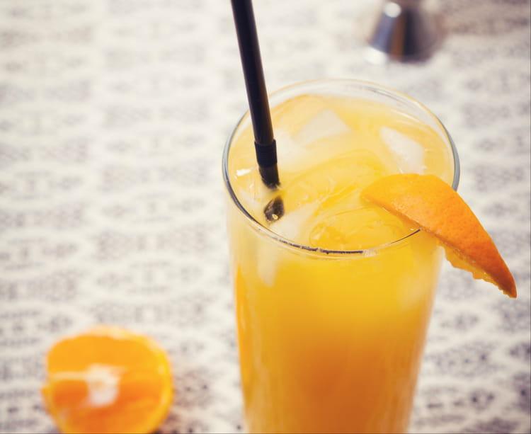 Punch au jus d 39 orange for Cocktail jus d orange