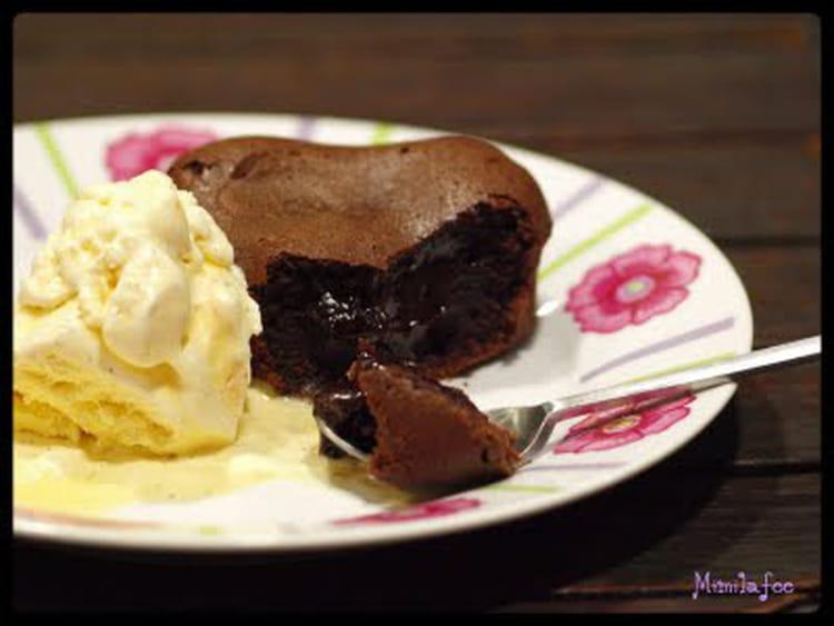 Recette De Moelleux Chocolat Coeur Coulant Cafe La Recette Facile