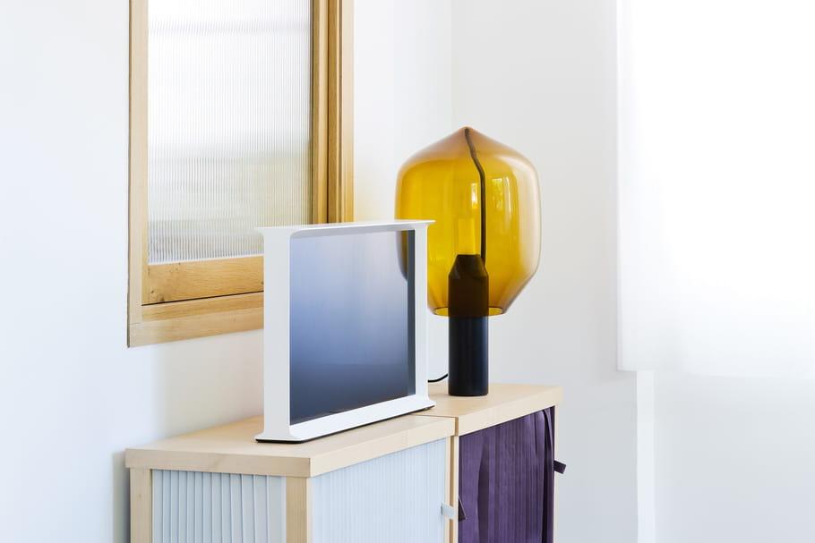 L'objet du désir : le téléviseur Samsung Sérif par les Bouroullec