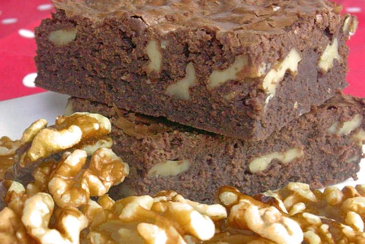Brownie gourmand aux noix