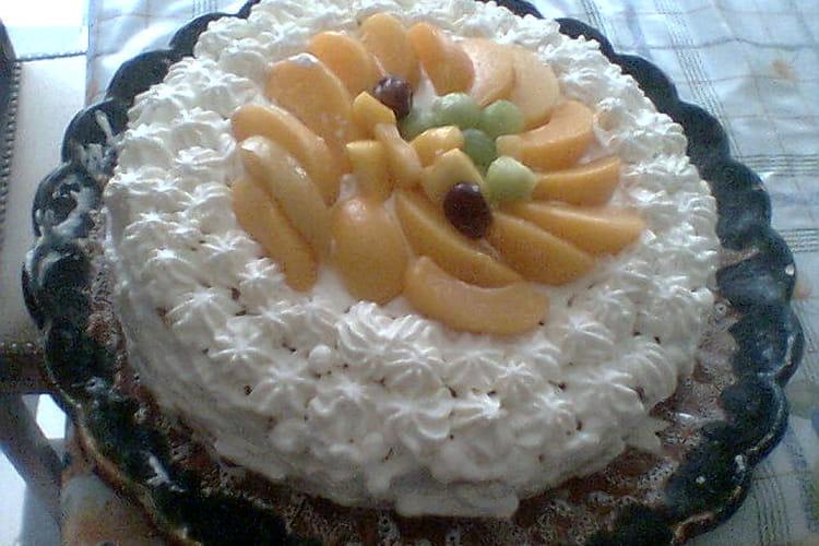 Gâteau aux fruits tropicaux