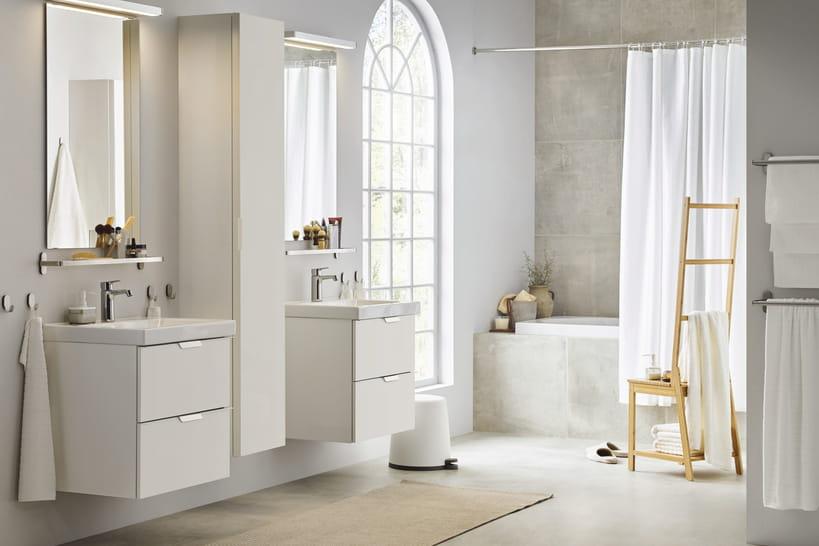 envie d 39 une salle de bains ikea les nouveaut s 2019 sont l. Black Bedroom Furniture Sets. Home Design Ideas