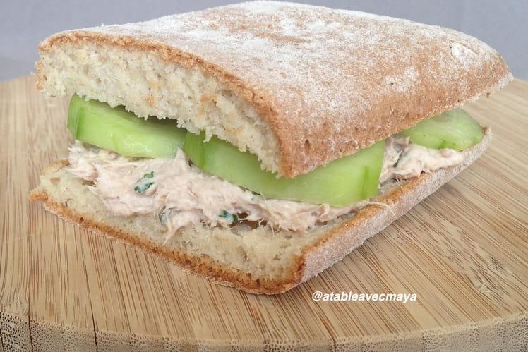 Sandwich au thon revisité