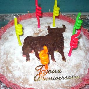gâteau 'taureau'