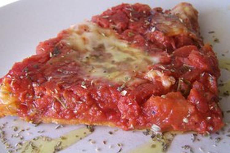 Tarte à la tomate légère