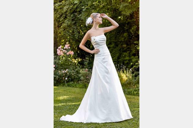 Robe de mariée Madras de Point Mariage