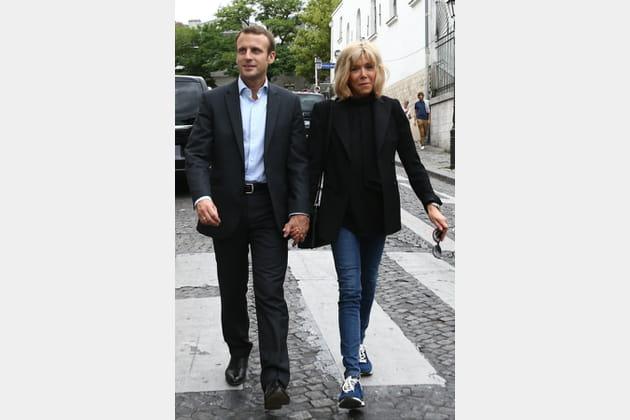 Brigitte Macron le 4septembre 2016