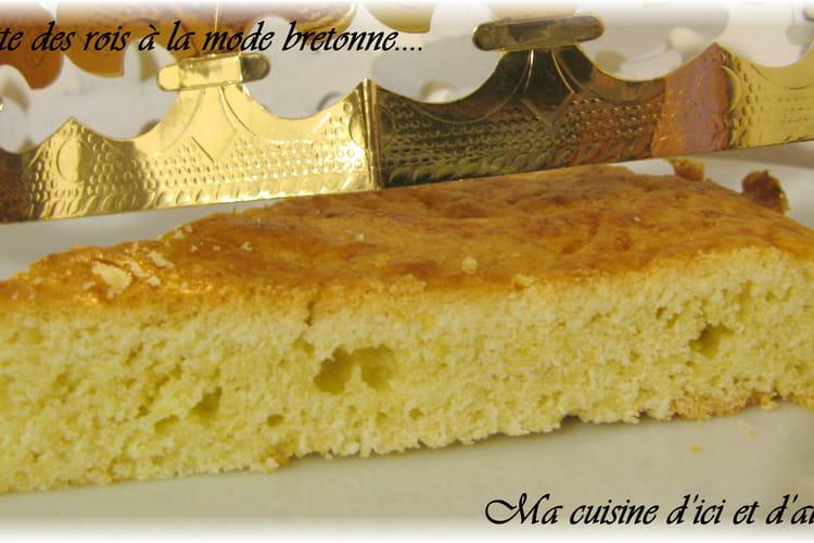 Galette des rois à la mode bretonne