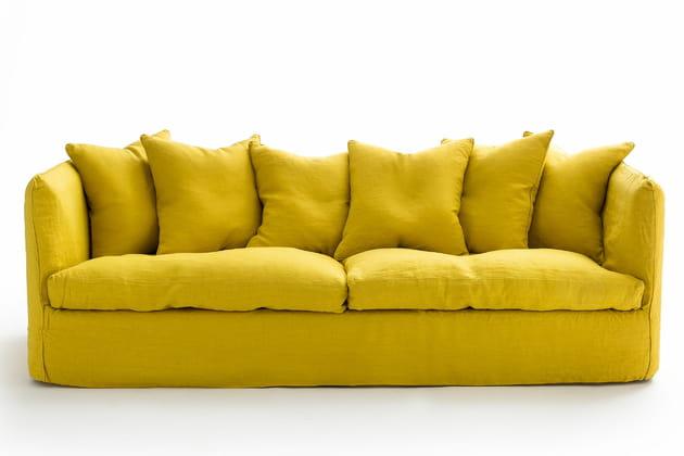 Canapé jaune AM.PM