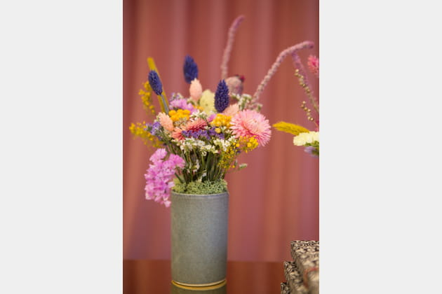 Des fleurs séchées hautes en couleur