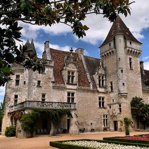 a castelnaud-la-chapelle, le château des milandes, demeure de joséphine baker
