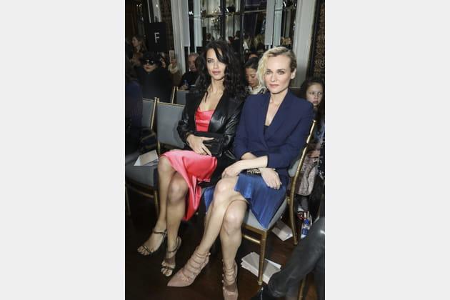 Adriana Lima et Diane Kruger