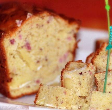 Cake Lardons Brie Pommes
