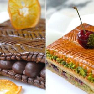 galettes 'zeste de choco' et 'griottine'