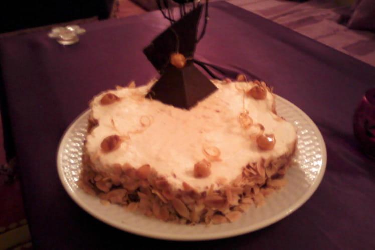 Gateaux d'anniversaire au deux chocolats