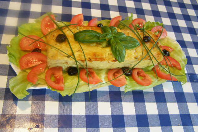 Cake de chou-fleur et jambon