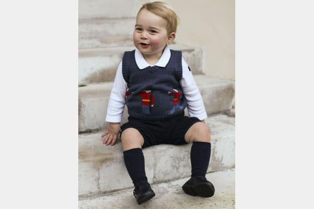 Prince George prêt pour son deuxième Noël