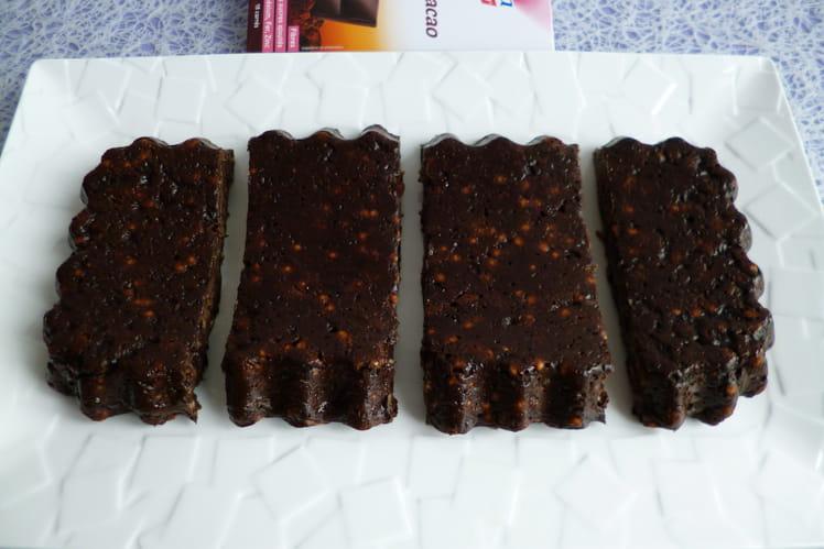 Fondant au chocolat et cacahuète au konjac