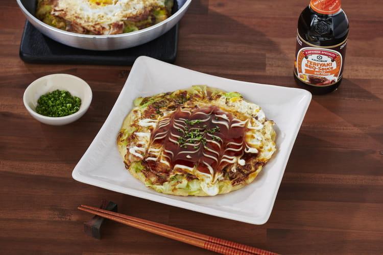 Crêpe japonaise à la viande Buta-tama