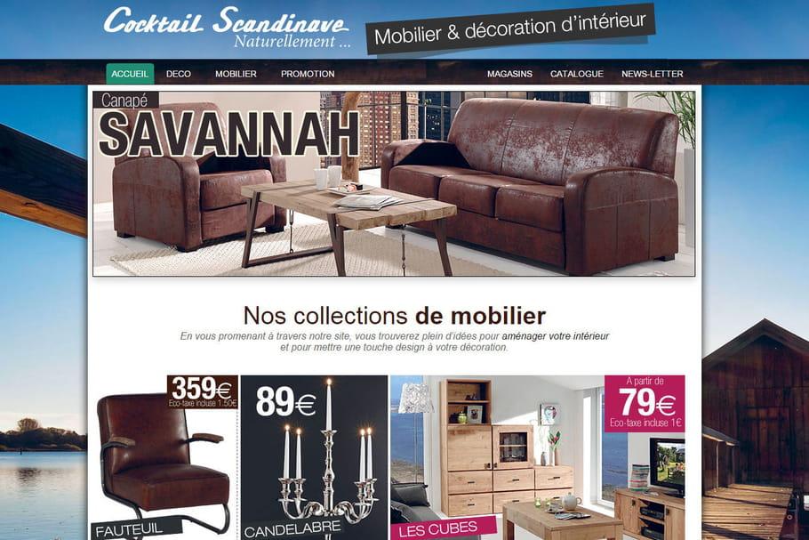 acheter chez cocktail scandinave pour une d co petits prix. Black Bedroom Furniture Sets. Home Design Ideas