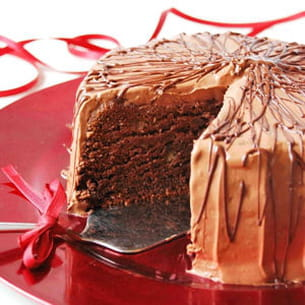 gâteau au chocolat et à la patate douce