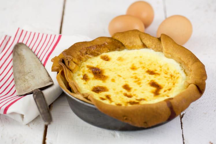 Tarte au fromage blanc généreuse