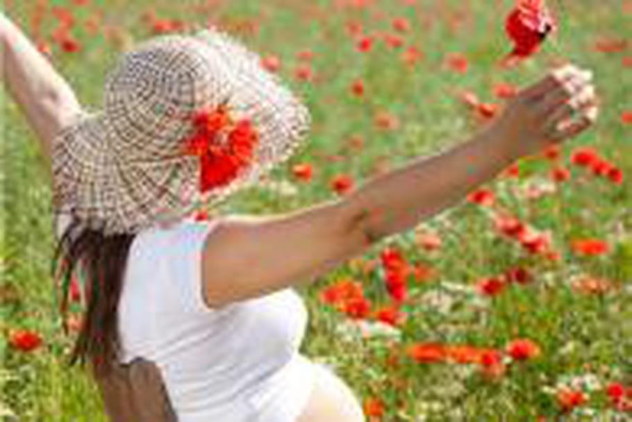 Soulager l'allergie aux pollens durantlagrossesse