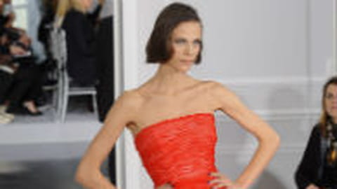 Défilé Dior haute couture printemps-été 2012