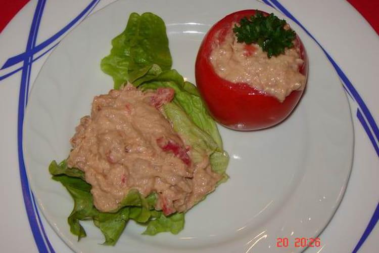 Tomate à l'antillaise