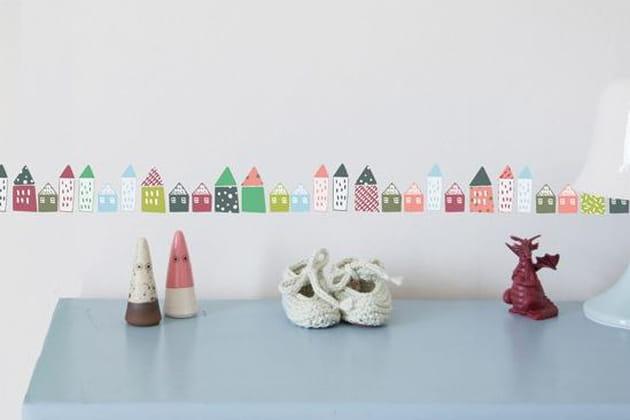 Frise Petites Maisons par Mimi' lou