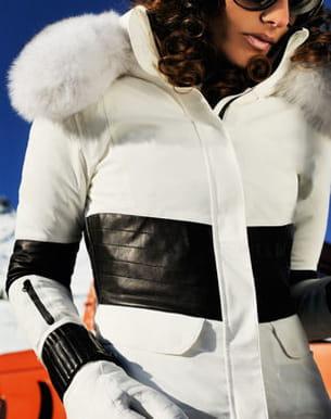 première collection de vêtements de ski lacroix