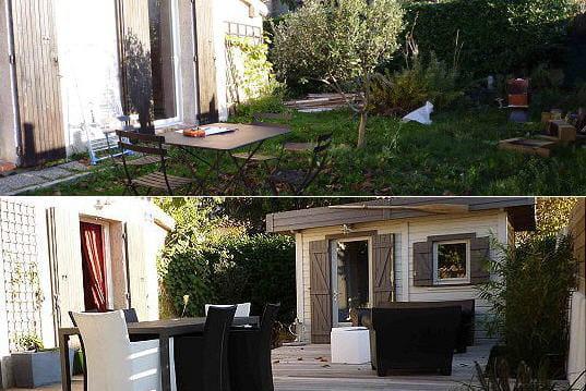 am nagement de terrasses l 39 ambiance zen et moderne. Black Bedroom Furniture Sets. Home Design Ideas