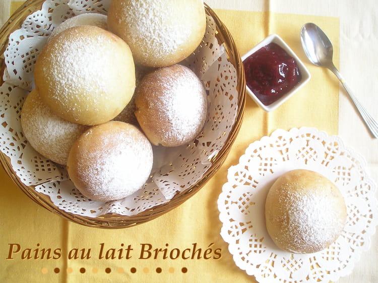 Recette de petits pains au lait brioch s avec map la recette facile - Recette petit pain au lait ...
