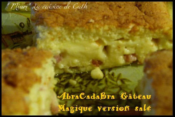 Gâteau magique salé