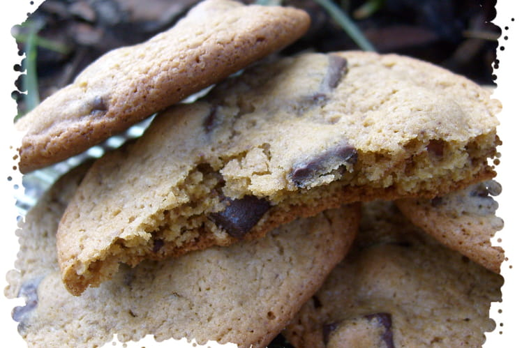 Cookies à la purée de cacahuètes