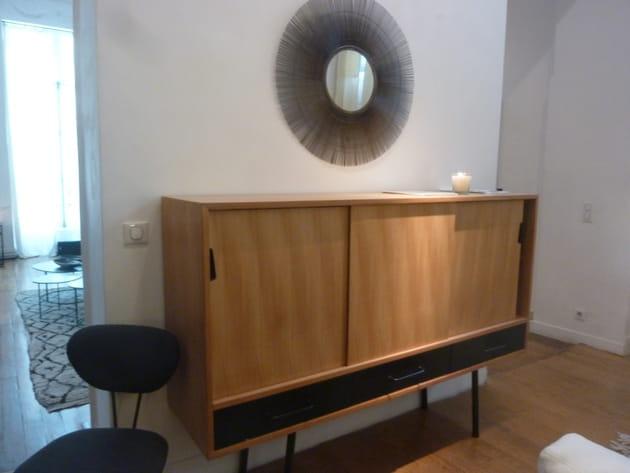 buffet vintage de caravane. Black Bedroom Furniture Sets. Home Design Ideas