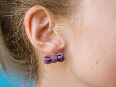 et voilà le résultat : de jolis et de discrets petits nœuds qui habillent les